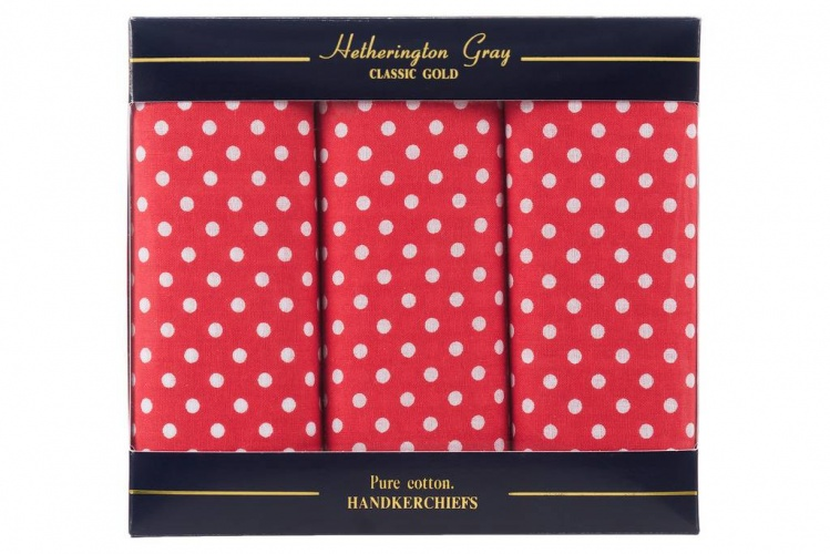 Spotted Handkerchiefs Red Spotted Handkerchief Gents Shop